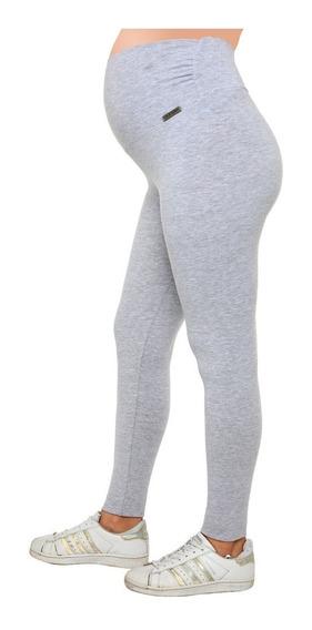 Calza Legging Embarazada Futura Mama Algodón Y Lycra