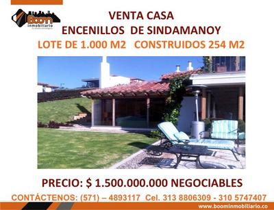 **venta Casa Encenillos De Sindamanoy 254 M2