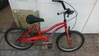 Bicicleta Robinson Rodado 16 Playera Permuto