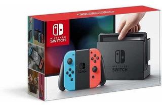 Nintendo Switch Neon Nuevo Sellado Sin Juego