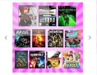 Paquete 2 - Dino Crisis, Dead Space, 13 Juego -- Ps3 Digitai