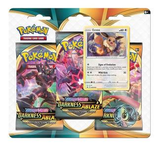 Pokemon Espada Y Escudo Oscuridad Incandescente Blister Pack