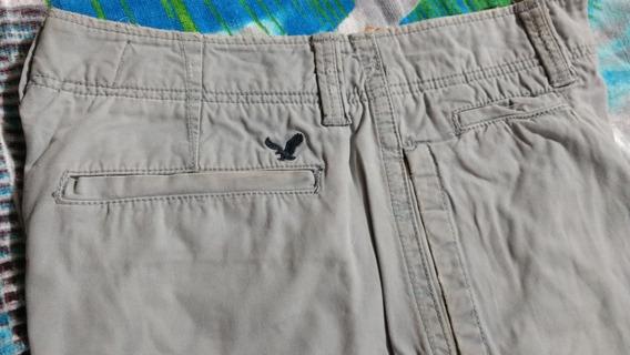 Bermuda Shorts American Eagle Original Azul Claro (28)