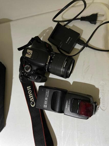Canon T3i + 18-55mm + Flash Yongnuo 568ex Ii