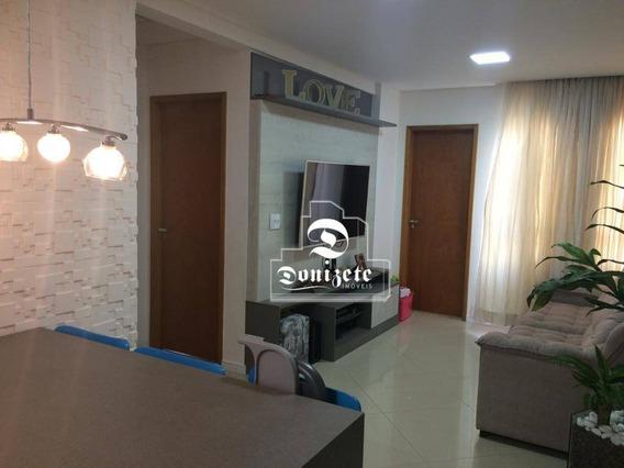 Apartamento Com 3 Dormitórios À Venda, 72 M² Por R$ 420.000,00 - Vila Bastos - Santo André/sp - Ap12985