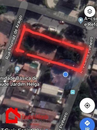 Terreno Para Venda Em São Paulo, Jardim Helga - 10_2-1027907