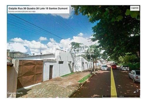Terreno À Venda, 1350 M² Por R$ 950.000,00 - Setor Santos Dumont - Goiânia/go - Te0146