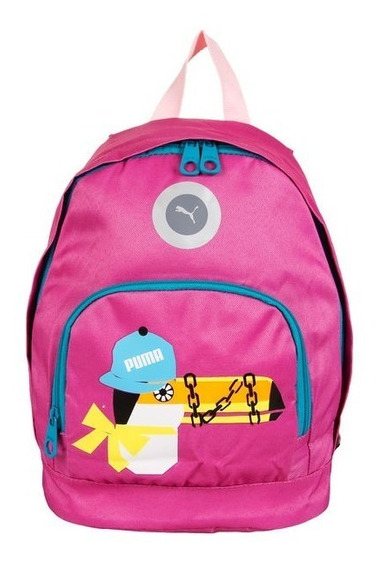 Mochila Puma Primary Backpack Fucsia