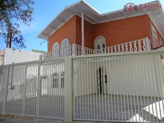 Casa Comercial Em Campinas - Sp, Nova Campinas - Ca00928