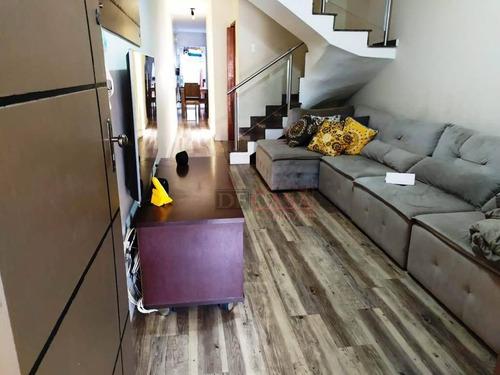Sobrado Frontal Com 3 Dormitórios 2 Vagas A Venda, 120 M² Por R$ 439.000 - Jardim Aricanduva - São Paulo/sp - So3789