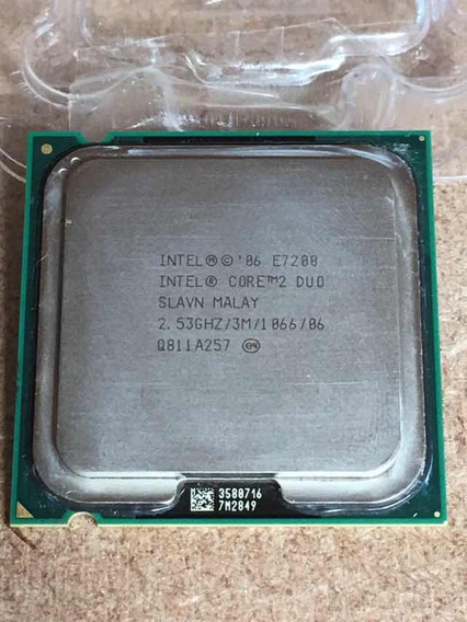 Processador Intel Core 2 Duo E7200 3m Cash 2,53 Ghz/1066 Mhz