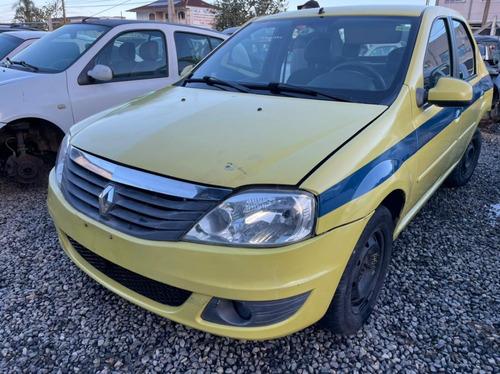 (08) Sucata Renault Logan 1.6 16v 2012 ( Retirada Peças)