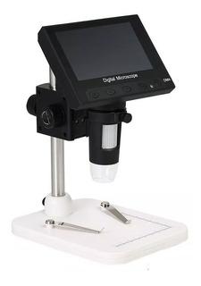 Microscopio Digital 1000x Zoom Óptico Con Base + Accesorios