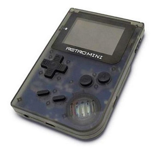 Consola RetroMini negra transparente