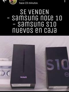 Celular Samsung Galaxi Note 10 Negro