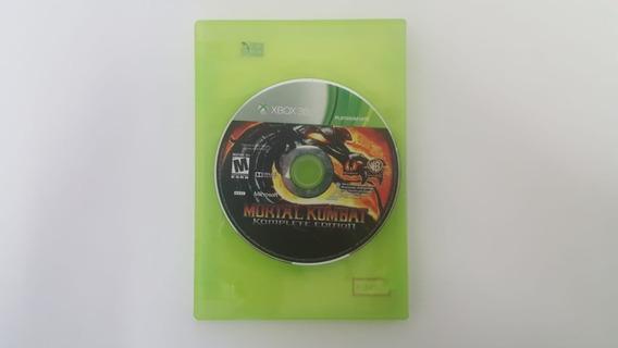 Mortal Kombat 9 Komplete Edition - Xbox 360 - Sem Encarte