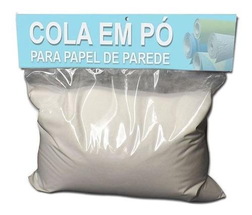 Imagem 1 de 3 de Cola Para Instalação De Papel De Parede Em Pó - 5kg