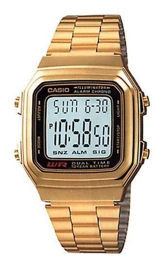 Relógio Masculino Casio Digital Vintage A178wga-1adf