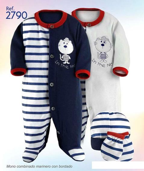 Mono Con Gorro Y Manoplas Ropa De Bebé Recien Nacido R2790