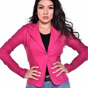 Blazer Feminino Colorido Terninho Casaco Promoção 344