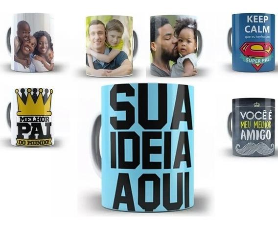Xícara Personalizada Com Foto E Frase - Frete Grátis