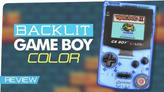 Game Boy Colour Clear Blue