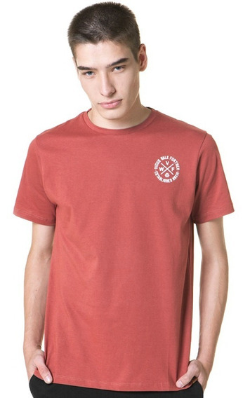 Remera Vicus Cicle Bordo