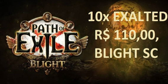 Exalted Orb - Path Of Exile Pc - Softcore - R$ 110,00