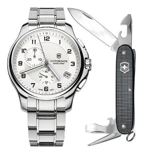 Relogio Victorinox Swiss Army Officers Chronograp 241554.1