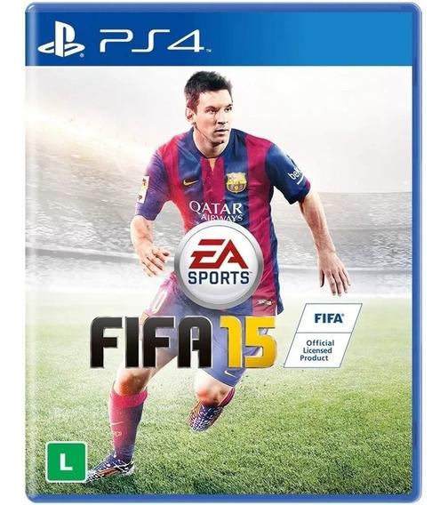 Jogo Playstation 4 Ps4 Fifa 15 - Mídia Física Original