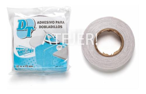 Imagen 1 de 2 de Cinta Con Adhesivo Para Dobladillos Dt 13mm X 10 Metros