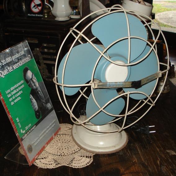 Antiguo Ventilador Siam De Mesa Impecable Funciona (4865)