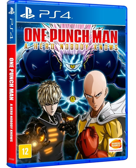 One Punch Man: A Hero Nobody Knows Ps4 - Mídia Física