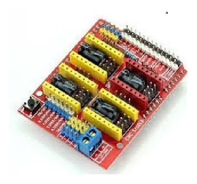 Kit Chield Cnc V3 4 Drivers A4988 Arduino