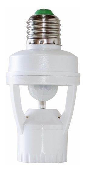 Soquete Sensor De Presença Fotocélula Ajustável E27 St551