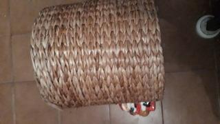 Puff En Seagrass Vietnam/crochet/solo Cba Diametro100c.