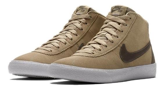 Zapatillas Nike Sb Bruin Hi 200 Ridgerock - Brown Botitas