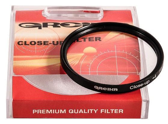 Filtro Close Up Greika 52mm +4 Garantia Novo