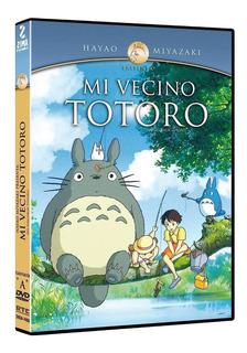 Mi Vecino Totoro Hayao Miyazaki Pelicula Dvd