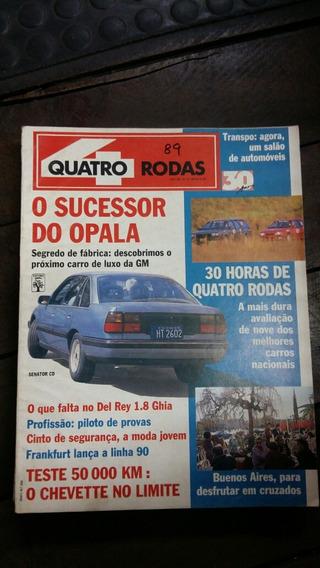 Quatro Rodas Setembro 1989