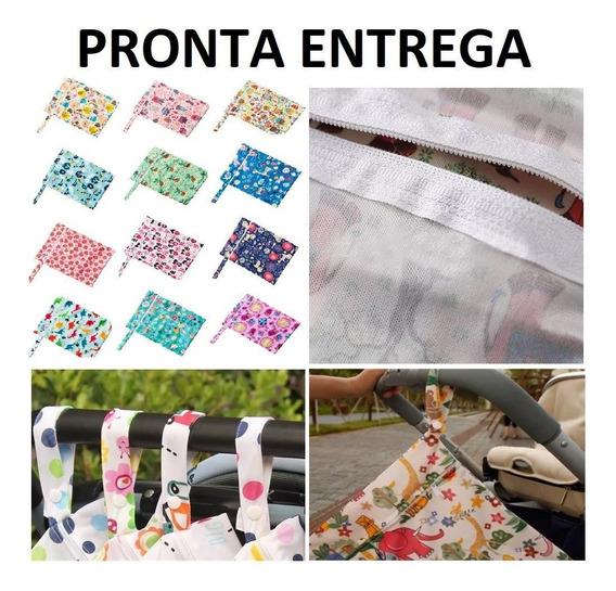 Saco Impermeável Bolsa - Kit 2 Unidades Fralda Bebê Praia