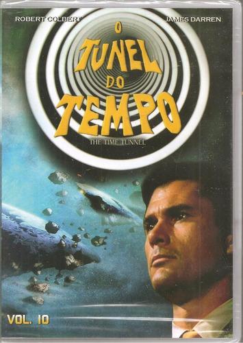 Dvd O Túnel Do Tempo Vol. 10 - Robert Colbert, James Darren