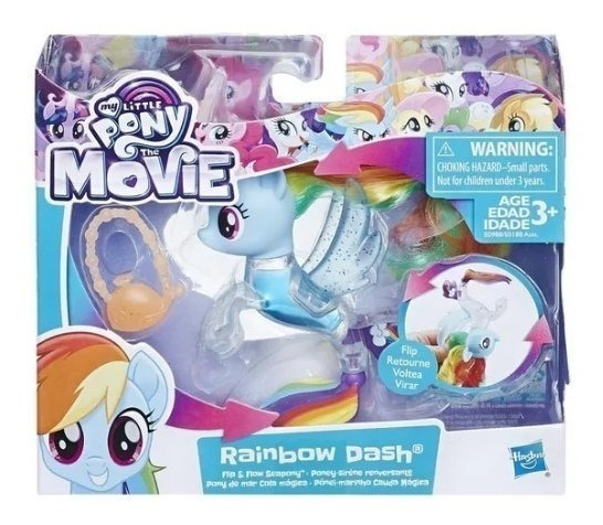 My Little Pony Sirena Mágica Flip And Flow Tail E0188 Hasbro