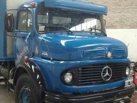Mercedes Benz 1114 Lo Con Caja De Frio Excelente Estado