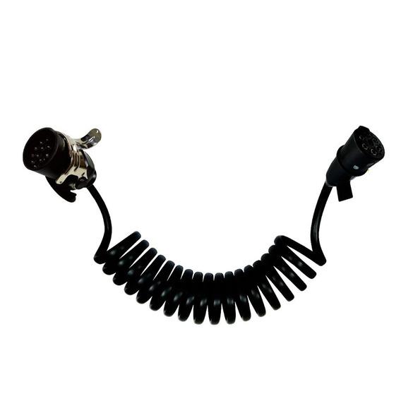 Chicote Elétrico Espiral Adaptador De 15 P/ 7 Vias Dni 8365