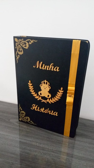 Caixa Porta Livro Mdf Personalizada