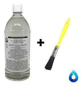 1l Ecleaner Limpa Placa 1litro 99,8% + Pincel Aplicador