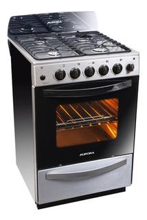 Cocina Aurora Argenta Xle Acero Inoxidable 56cm Encendido