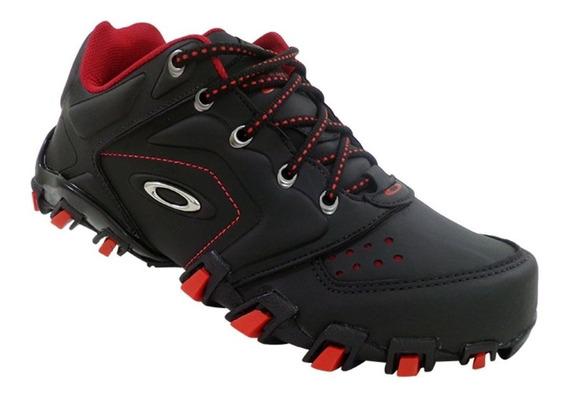 Tênis Oakley Anchor Preto C/ Vermelho 12x S/ Juros Frete Gts