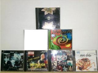 Cd Original De Metallica, U2, Papa Roach, Etc